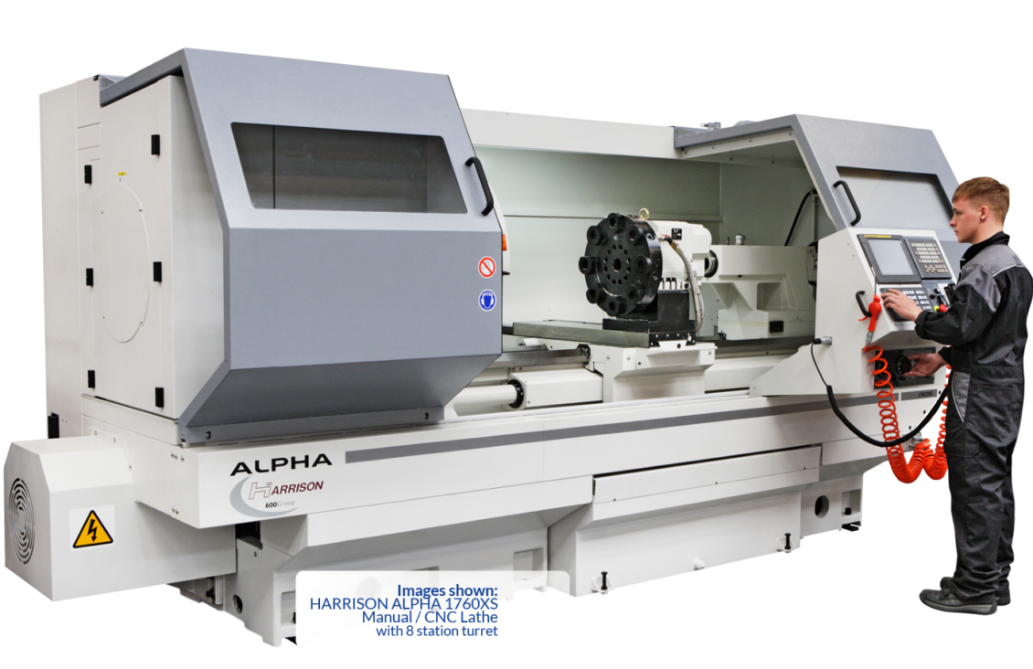 Harrison Alpha 1660xs Manual Cnc Lathe Rk