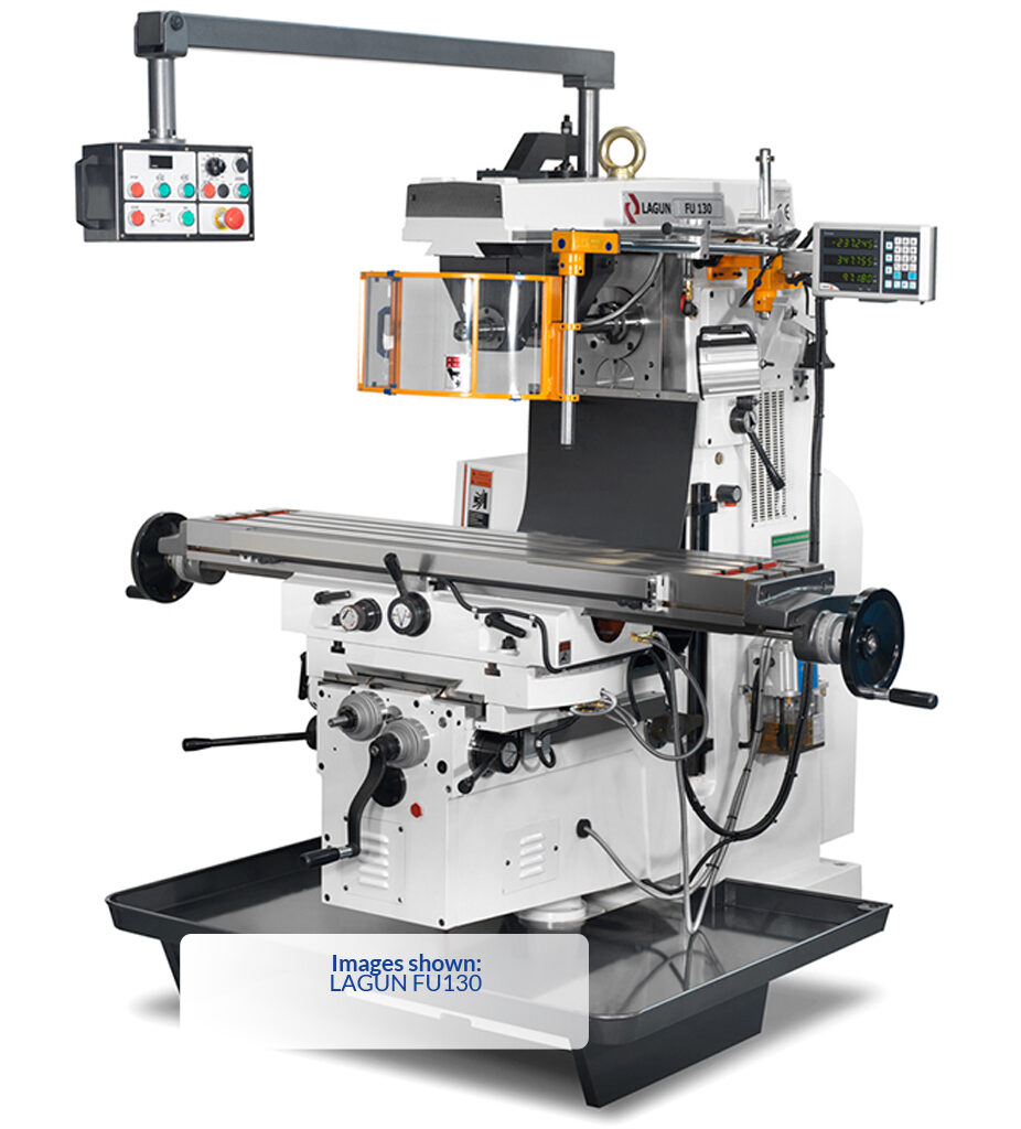 Lagun Model FU130 Universal Milling Machine