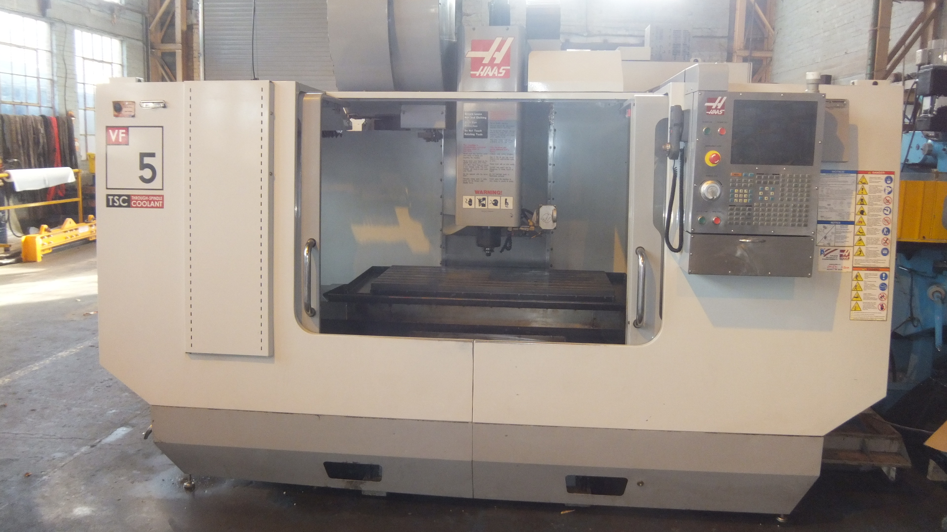 Used Haas VF5 CNC Machining Centre