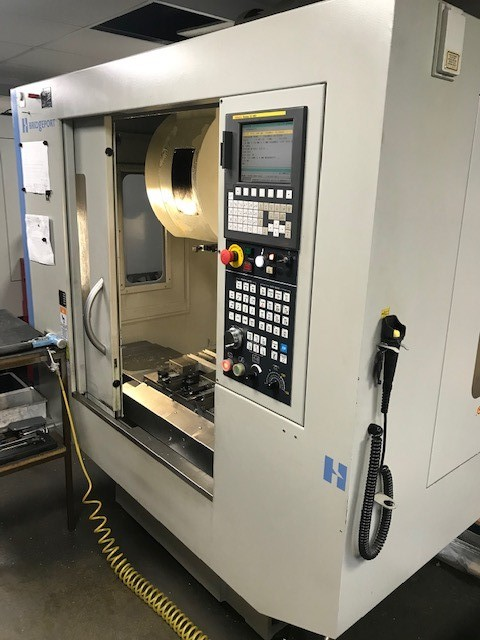 Used Hardinge Bridgeport GX710 Vertical Machining Centre