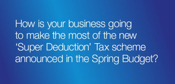 Super deduction tax scheme