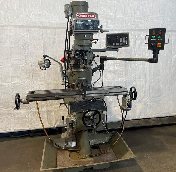 Used Chester 3VS Turret Mill - ex college