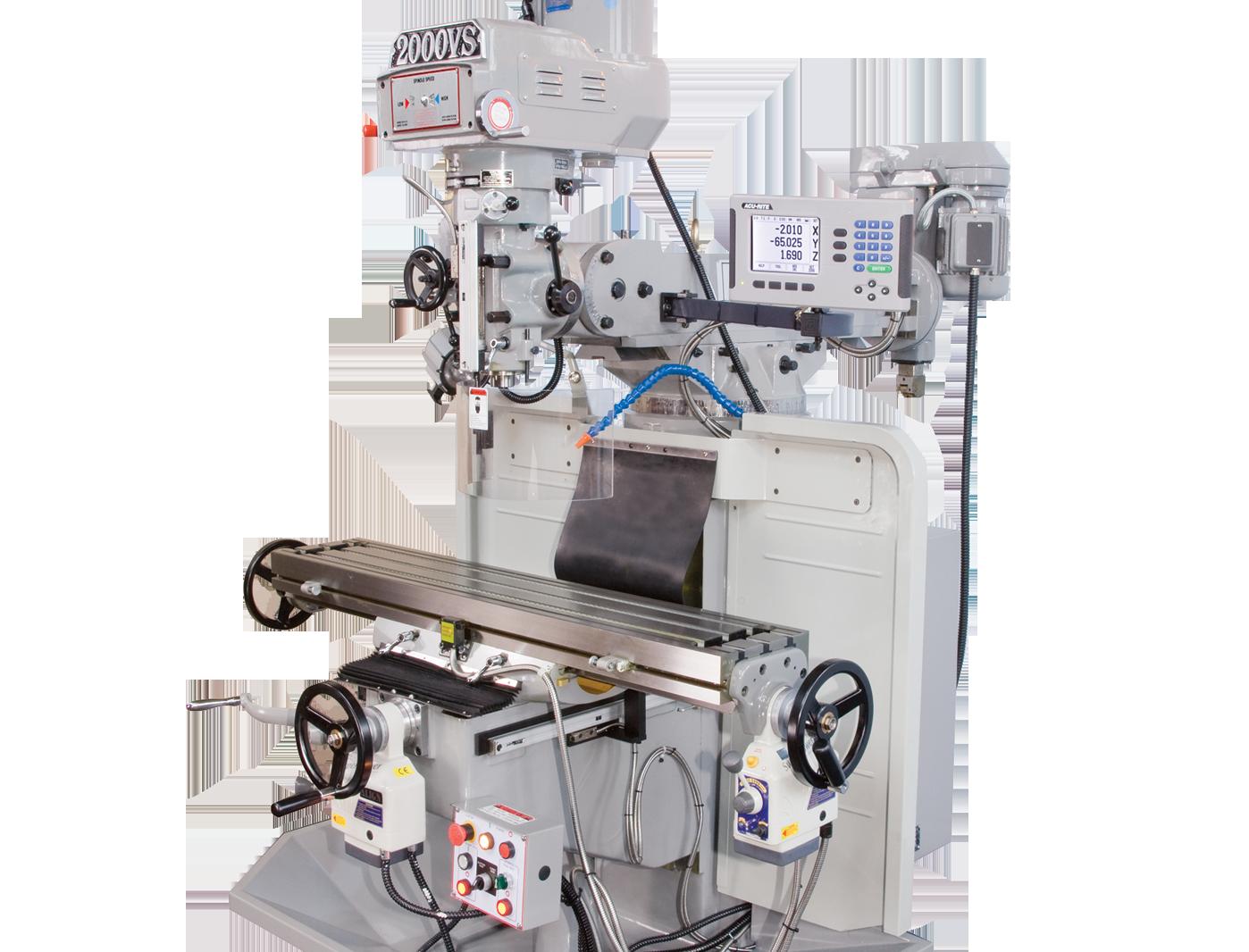 EUROPA Milltech 2000VS Turret Mills