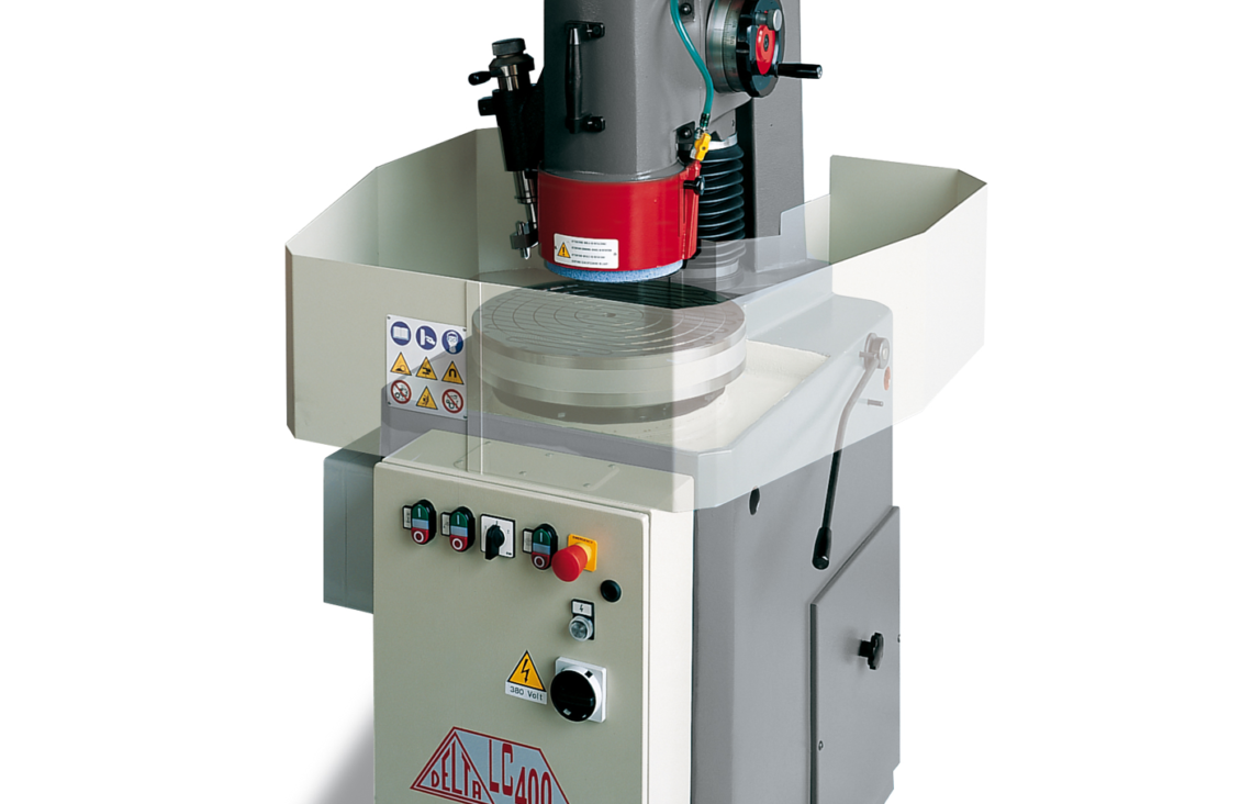 Delta Lc 400 Rotary Table Surface Grinding Machine With