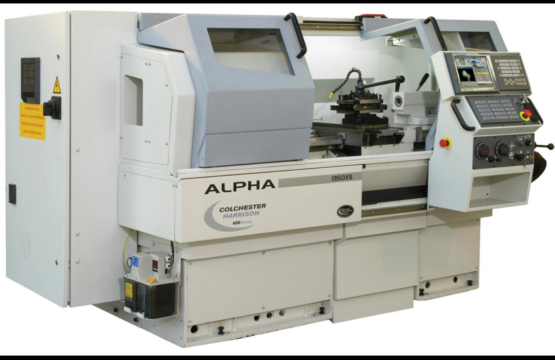 Harrison Alpha 1350XS Manual / CNC Lathe