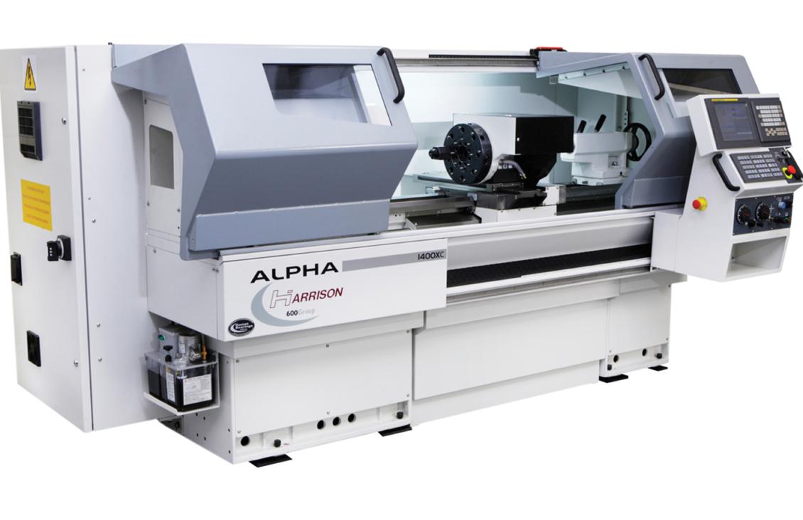 Harrison Alpha 1400XC Manual / CNC Mill Turn Lathe