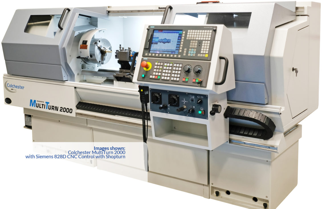 Colchester MultiTurn 4000 Manual/CNC Lathes. previous next