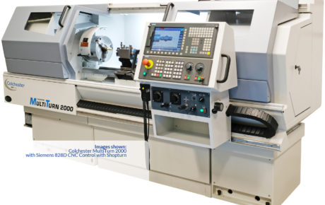 Colchester MultiTurn 4000 Manual/CNC Lathes - UK Supplier in Kent